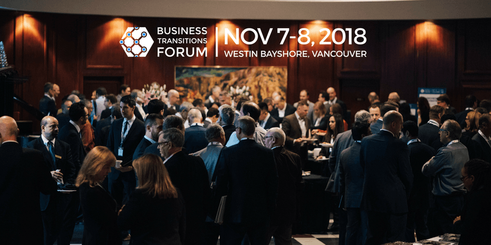 Cindy to speak at the Business Transitions Forum – November 7-8, 2018