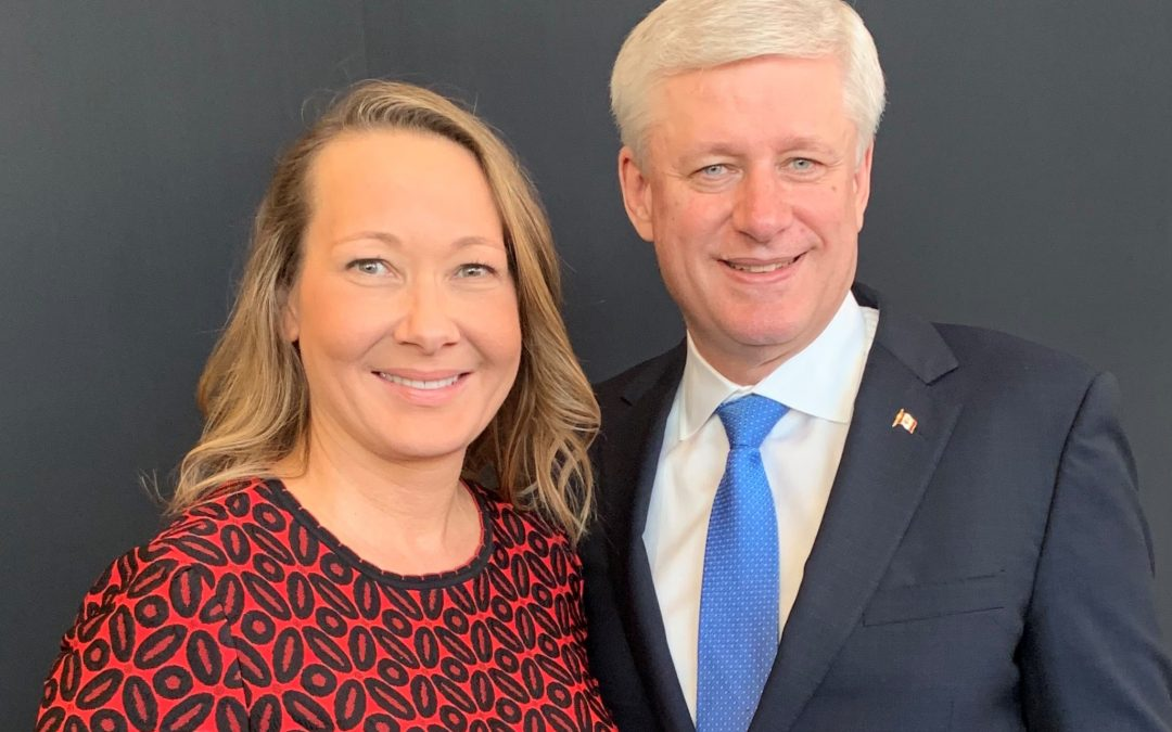 Cindy met with Stephen Harper